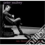 Peter Mulvey - Ten Thousand Mornings cd musicale di MULVEY PETER