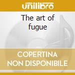 The art of fugue cd musicale