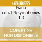 Piano con.1-4/symphonies 1-3 cd musicale di Sergei Rachmaninoff