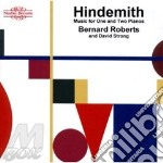 Music for one and two piano cd musicale di Paul Hindemith