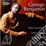Three Inventions cd musicale di Benjamin