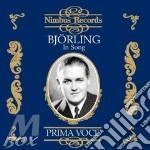 Bjorling, Jussi - Jussi Bjorling In Song 1930-1937 cd musicale di Artisti Vari