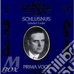 Schubert, Franz - Heinrich Schlusnus In Schubert Lieder 1927-1943 cd musicale di Artisti Vari