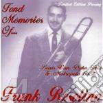 Fond memories of... - rosolino frank cd musicale di Frank Rosolino