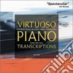 Virtuoso piano transcriptions cd musicale