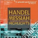 Il messia (estratti) cd musicale di Handel georg friedri