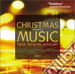 Christmas music from medieval hungary cd musicale