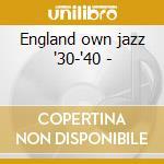 England own jazz '30-'40 - cd musicale di Black british swing