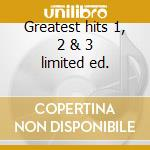 Greatest hits 1, 2 & 3 limited ed. cd musicale di Tim Mcgraw