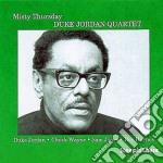 Duke Jordan Quartet - Misty Thursday cd musicale di Duke jordan quartet