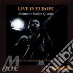 Live in europe - cd musicale di Monnette sudler quartet
