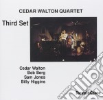Cedar Walton Quartet - Third Set cd musicale di Cedar walton quartet