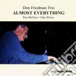 Don Friedman Trio - Almost Everything cd musicale di Don friedman trio