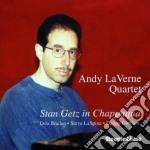 Andy Laverne Quartet - Stan Getz In Chappaqua cd musicale di Andy laverne quartet