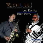 Lee Konitz & Rich Perry - Richlee cd musicale di Lee konitz & rich perry
