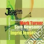 Jam session vol.4 cd musicale di M.turner/s.newsome/g