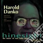 Harold Danko - Hinesight cd musicale di Harold Danko