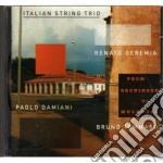 Italian String Trio - From Groningen Mulhouse cd musicale di Italian string trio