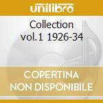 Collection vol.1 1926-34 cd musicale di Russell Luis