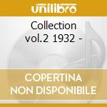 Collection vol.2 1932 - cd musicale di The washboard rhythm kings