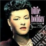 Billie Holiday - Control Booth Series V.1 cd musicale di Billie Holiday