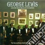 Second bakersfield 1954 - lewis george cd musicale di Geroge lewis & new orleans sto