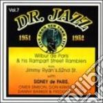 Dr.jazz vol.7 1951-1952 - cd musicale di Wilbur de paris & rampart stre