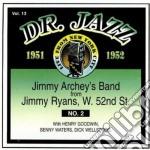 Jimmy Archey - Dr.jazz Vol.13 1951-1952 cd musicale di Archey Jimmy