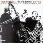 Big two - marsh warne mitchell red cd musicale di Red mitchell & warne marsh