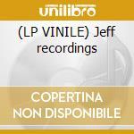 (LP VINILE) Jeff recordings lp vinile