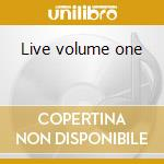 Live volume one cd musicale di Kid creole & the coconuts