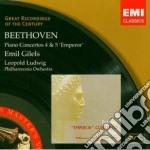 CONCERTI PER PIANOFORTE N. 4 & 5 (IMPERA cd musicale di Emil Gilels