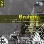 Sir John Barbirolli - Brahms: Piano Concertos 1 & 2 - Variations On A Theme By Haydn - Tragic Overture - Academic Festival Overture cd musicale di BARENBOIM DANIEL