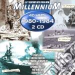 MILLENNIUM 40 HITS/80-84 cd musicale di ARTISTI VARI