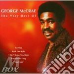 Very best cd musicale di George Mccrae