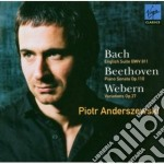 Bach - Anderszewski Piotr - Bach: English Suite, Beethoven: Piano Sonata & cd musicale