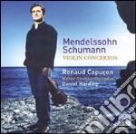 Mendelssohn - Concerti Per Violino - Capucon cd musicale di Renaud Capucon