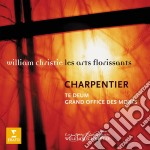 Charpentier - Te Deum - Grand Office Des Morts - William Christie cd musicale di CHRISTIE WILLIAM