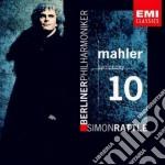 Mahler Gustav - Rattle Simon - Sinfonia N. 10 cd musicale di Simon Rattle