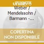 Konzerstucke/klarinetqui cd musicale di Mendellsohn