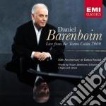 Daniel Barenboim - Live From The Teatro Colon 2000 cd musicale di Daniel Barenboim