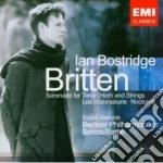 Britten - Bostridge Ian - Les Illuminations, Serenade, Nocturne cd musicale di Ian Bostridge
