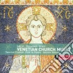 Venetian church music cd musicale di Gabrieli/monteverdi/vivaldi