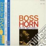 Boss horn cd musicale di Blue Mitchell
