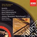 Maurice Ravel - Benedetti-michelangeli Arturo - Concerto Per Pianoforte cd musicale di BENEDETTI-MICHELANGE