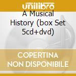 A MUSICAL HISTORY (BOX SET 5CD+DVD) cd musicale di BAND (THE)