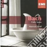 CELLO SUITES/SCHIFF cd musicale di BACH
