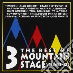 Mountain stage vol.3 cd musicale di Artisti Vari