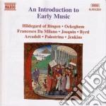 Introduzione Alla Musica Antica: Dal Gregoriano A Louis Couperin cd musicale