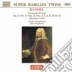 Concerto grosso n.3 op.3, n.4, n.5, n.6, cd musicale di Handel georg friedri